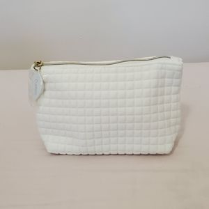 Clarins Soft Quitted Makeup Bag
